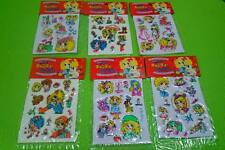 CANDY CANDY -VINTAGE PUFFY STICKERS SET A -  YUMIKO IGARASHI - jeaniewlbh