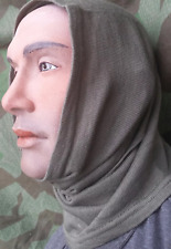 GREY WOOL NECK SCARF WW2 NEW MILITARY GRADE HEAD WARMER