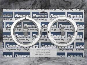 37 38 39 Ford Car Truck Billet Aluminum Gauge Panel Dash Insert Instrument