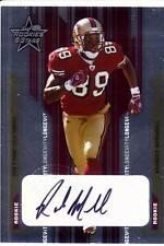 rasheed marshall rookie rc draft auto autograph 49ers west virginia wvu #/50 05