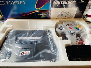 OFFICIAL Lawson's Ticket Station J-League Nintendo 64 N64 Promo Console 1/100?
