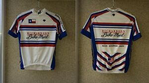 Richardson Bike Mart Cycling Shirt S Jersey USA Camiseta