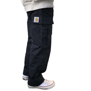 Carhartt check cotton multi-pocket overalls men Hip-hop fashion casual trousers