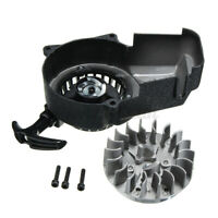 Engine Pull Start & Flywheel 2 Stroke 47cc 49cc Mini Motor Quad Dirt Bike ATV
