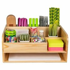 Pine Desk And File Organizer For Home Office Amp School