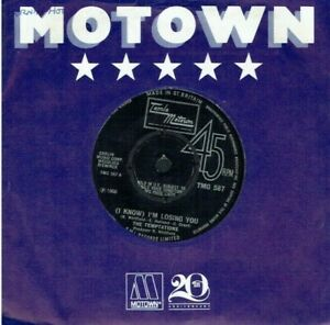 THE TEMPTATIONS (I NOW)I'M LOSING YOU 45 MOTOWN TMG 587 1966