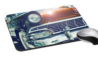 Vintage Car Mouse Pad Soft Rubber Keyboard Large Computer Gaming Mouse Desk Pad