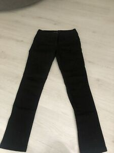 Next Black Lift & Shape Skinny Fit Jeans Sz 12 Reg