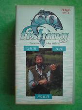 GO FISHING (JOHN WILSON) CHUB,TOPE,ROACH  (NEW)   RARE  DELETED