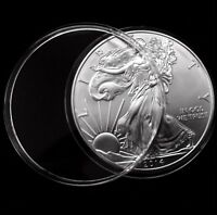 50 Direct Fit 41mm Coin Capsule For US Dollars 1794-1839, 1 oz. Silver Buffalo