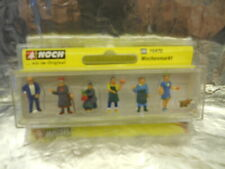 ** Noch 15470 Market People (6) and Dog Figure Set 1:87 HO Scale