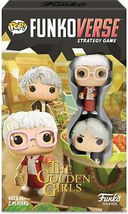 Funko POP! Funkoverse The Golden Girls 101 Extension 2 Character New And Sealed