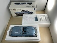AUTOart 1/18 Chevrolet Corvette 1958 (Silver Blue) 71146
