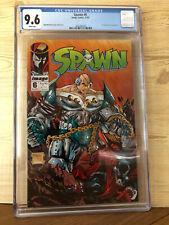 Spawn #6 (Nov 1992, Image) CGC 9.6 1st app Over-kill Todd McFarlane story art