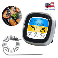 Wireless BBQ Thermometer Food Cook Timer Probe Digital Portable Oven Meat Grill