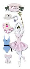 Jolee's PRINCESS BALLERINA 3d Scrapbook Stickers