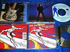 2 CD JOE SATRIANI flying in blue SURFING WITH THE ALIEN