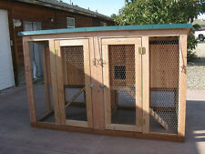 Chicken coop plan with material list, emailed,The Mini Coop Plex, 2 coops in one