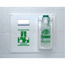 Eye Wash Bottle and Wall Plaque