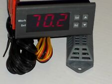 Moisture Humidity Controller 110V Greenhouse Incubator Greenery Curing chamber