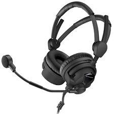 Sennheiser HMD 26-600-II-XQ On-Ear Stereo Broadcast Headset with microphone
