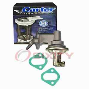 Carter Mechanical Fuel Pump for 1967 Dodge W300 Series 6.3L V8 Air Delivery bj