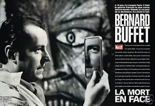 Coupure de Presse Clipping 1999 (12 pages) Bernard Buffet la mort en face
