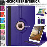 """Leather Rotating Smart Stand Case Cover For Apple iPad 9.7"""" & Pro 9.7"""" 2017 2018"""
