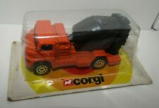Corgi Juniors Cement Mixer Orange Black Mixer Mint on FRENCH Blister