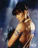Demi Moore Psa Dna Coa Autograph 8x10 Photo Hand Signed