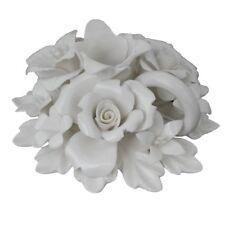 NIB White Ceramic Votive by Ophelia & Co.