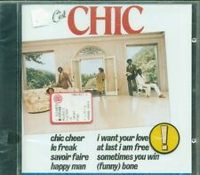 Chic - C'Est Chic (Nile Rodgers) 1St Press Siae Rosa Cd Sigillato