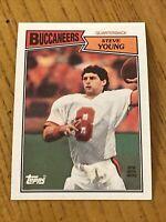 Vintage NFL 1987 Topps #384 STEVE YOUNG SF 49ers Bucs QB HOF RARE NrMt/Mt 2nd Yr