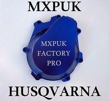 HUSQVARNA 2018 STATOR COVER IN BLUE MXPUK BILLET ALUMINIUM FC 2017 2016 (648)