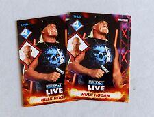 Hulk Hogan Chris Daniels TNA Wrestling Trading Card WWE nxt wrestler