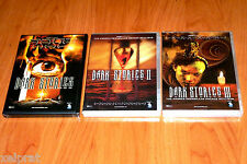 DARK STORIES I, II y II - ENGLISH / Español - DVD Area 2 - Precintadas