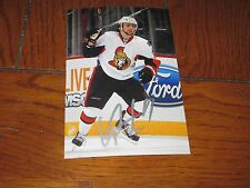 CORY CONACHER AUTOGRAPHED OTTAWA SENATORS 4X6 PHOTO # 3