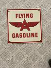 Flying A Gasoline Porcelain Sign