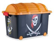 Spielzeugkisten und Truhen für Kinder mit Piraten Motiv