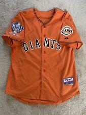 Buster Posey #28 San Francisco Giants Orange Jersey 40 Coolbase