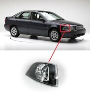 FOR VOLVO S40/V40 00-04 FRONT CLEAR TURN SIGNAL INDICATOR BLACK INSIDE RIGHT