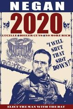 Negan for President 2020 Walking Dead 11 x 17 high quality poster print