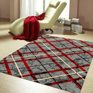 Budget BCF Collection Rug Criss Cross Modern Design In All Sizes