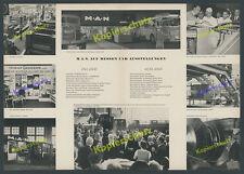 They show IAA Frankfurt Car Truck Bus Diesel motorbau BMWi Ludwig Erhard 1957