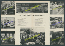On foire Bit Francfort voiture camion autobus Diesel motorbau BMWI Ludwig Erhard 1957