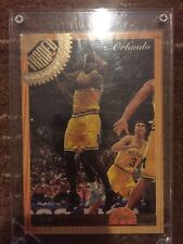1993 CLASSIC GAMES CHRIS WEBBER #SE1 MINT CONDITION 1 OF 25,000 FRAMED TRADED