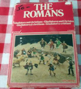 Atlantic Set 1517 The Romans CHRISTIANS AND GLADIATORS 60mm 23 Pieces