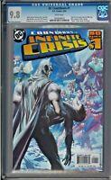 DC Countdown #1  CGC 9.8 White Pages Death Blue Beetle Batman Infinite Crisis
