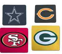 Brand New NFL Neoprene Mouse Pad- Pick Your Team