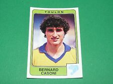 N°308 CASONI SPORTING CLUB TOULON PANINI FOOTBALL 86 CHAMPIONNAT FRANCE 1986
